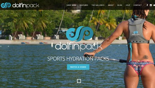 Website Design Project: DolfinPack Hydration Pack