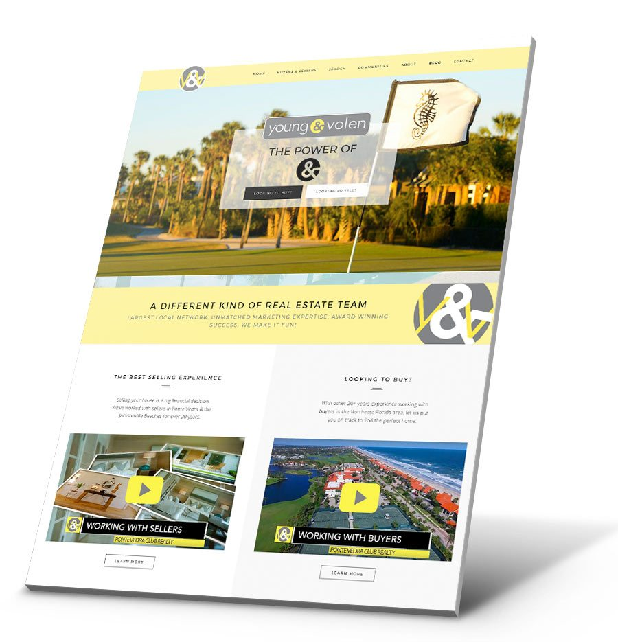 Ponte Vedra Focus WordPress Website Design