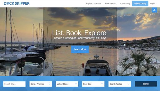 Website Design Project: Dock Skipper