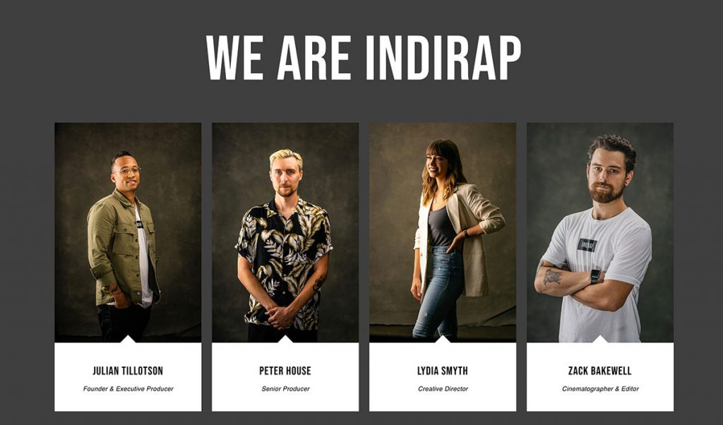 Indirap Productions Project Gallery