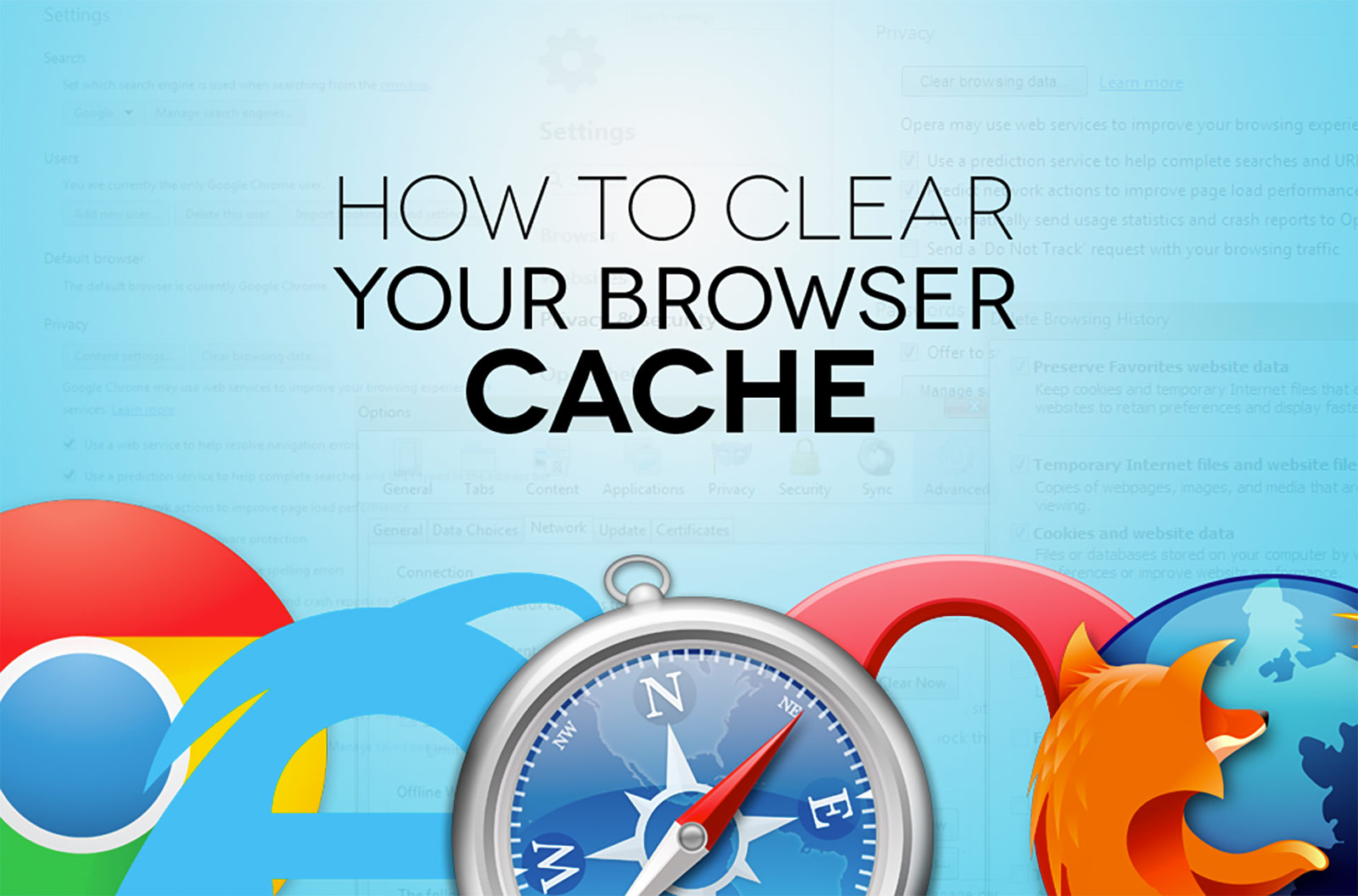 Featured Image You Need To Clear Your Cache!  But What Does That Mean?