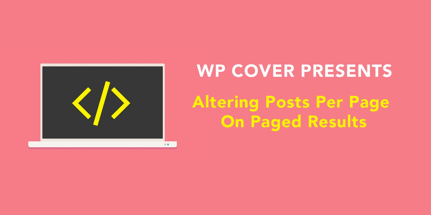 Featured Image WP Query – Alternative Number Of Posts On Paged Results