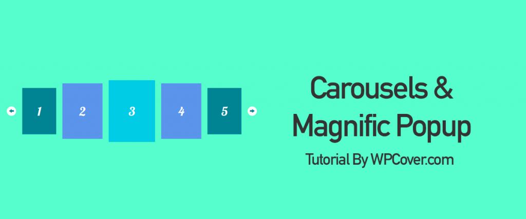 Featured Image For Looping Carousel Magnific Popup Gallery