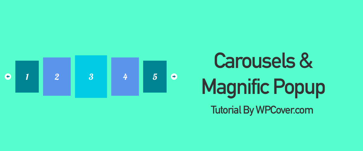 Featured Image Looping Carousel Magnific Popup Gallery