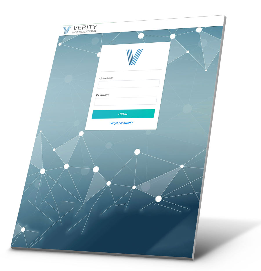 Verity Claim Application WordPress Website Design