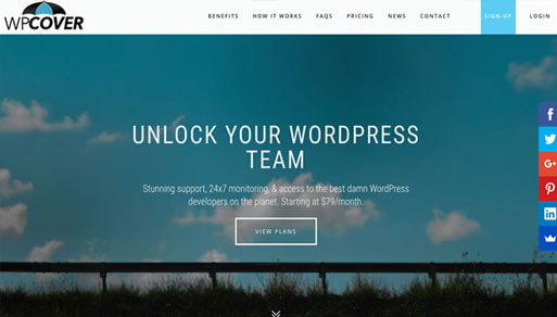 WP Cover – WordPress Maintenance & Security Featured Image