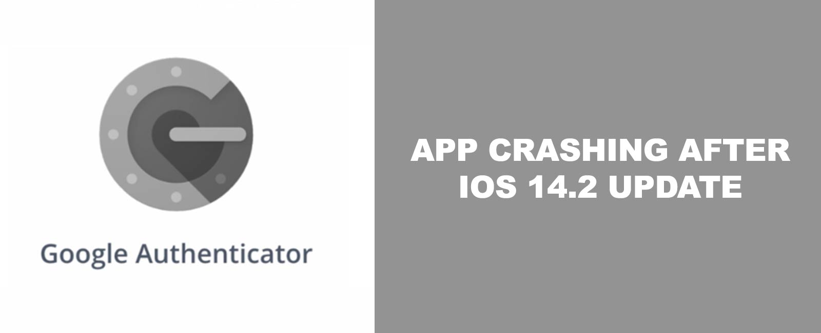 Featured Image Google Authenticator App Crashes on iOS 14.2 Solution